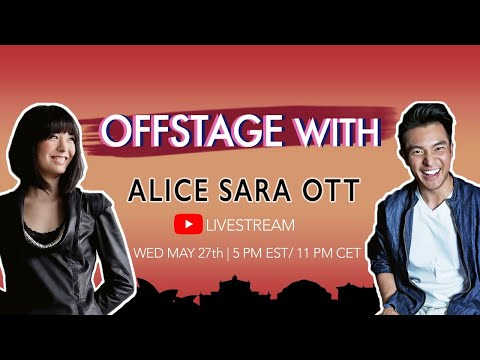 OFFSTAGE With: Alice Sara Ott