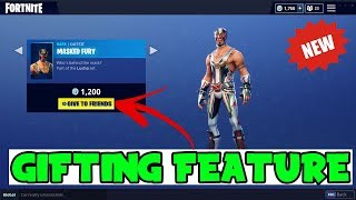 NEW LEAKED SAD INFO FOR Gifting System In Fortnite! (Fortnite Season 5 Gifting Feature)