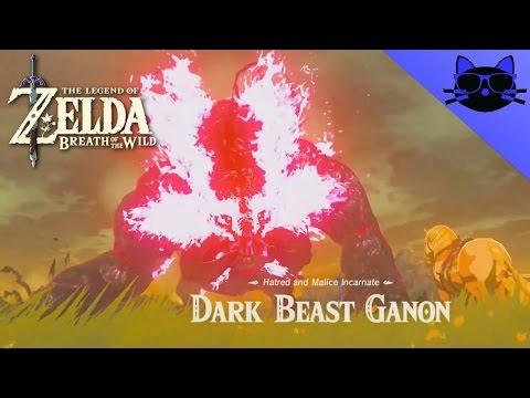 Zelda Breath Of The Wild Final Battle Dark Beast Ganon