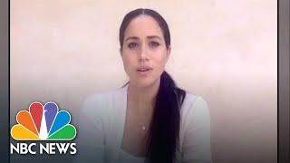 Meghan Markle Speaks Out About George Floyd Protests | NBC News