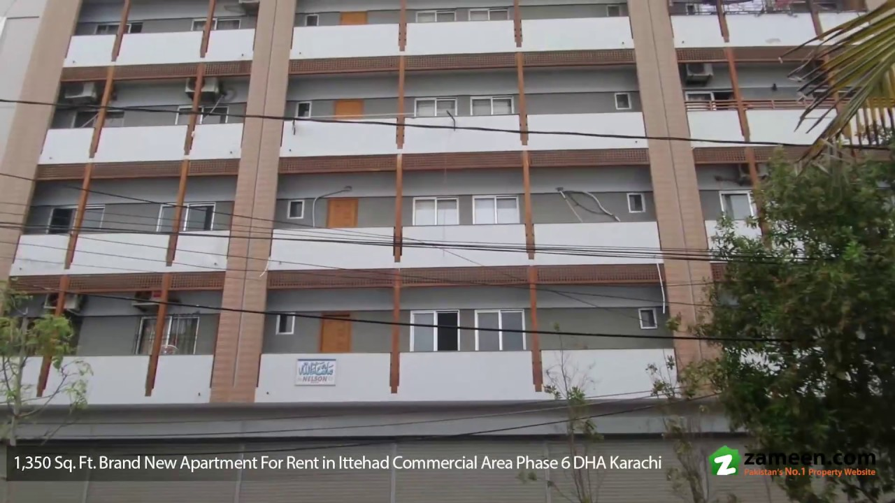 Brand New Exclusive Apartment For Rent At Ittehad Commercial Area Dha Phase 6 Karachi