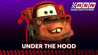 Under the Hood: Tow Mater | Racing Sports Network by Disney•Pixar Cars | Disney