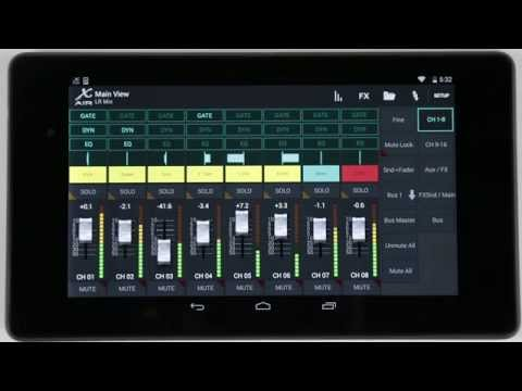 X AIR How To: Custom Fader Layers (Android)