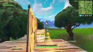 Fortnite Battle Royale Solo Steering a Guided Missile Rocket Ride x2