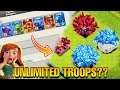 Gambar cover UNLIMITED TROOPS IN CLASH OF CLANS *INSANE TRICK* | THINGS ONLY DEVELOPER BUILD CAN DO #2