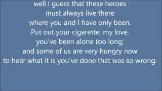 leonard cohen a bunch of lonesome heroes