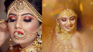 Indian Bridal Makeover | Makeup Artist Kashish Jaiswal | Photographer LOukik Das |