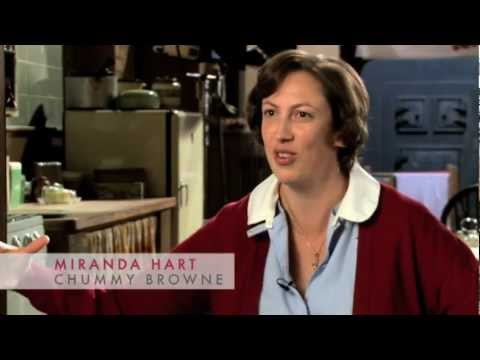 Chummy - Miranda Hart - Behind the scenes of Call the Midwife Series 2