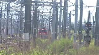9605レ キハ40形秋田車小湊鉄道甲種輸送秋田貨物駅到着