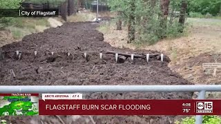 Residents living near Museum Fire burn scars worry over flooding
