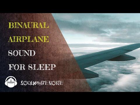 Airplane Binaural Sound To Help You Fall Asleep Easier