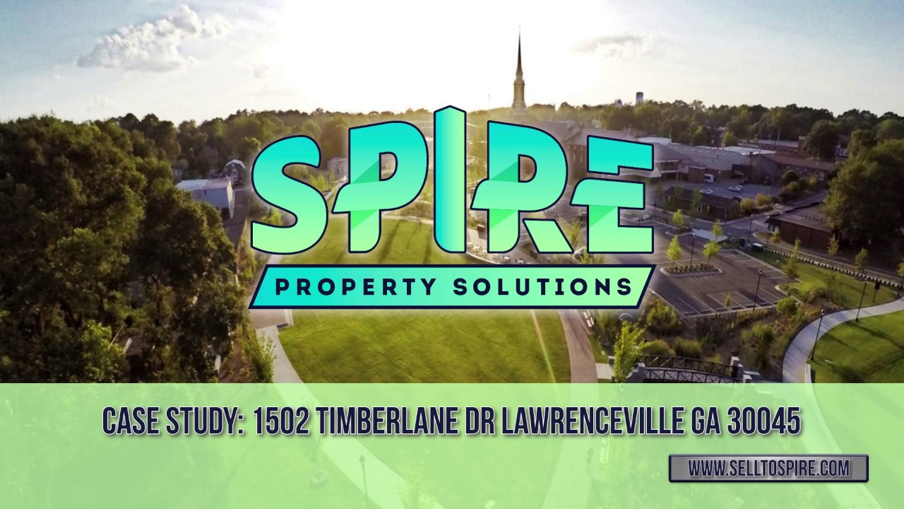 'Sell My House Fast in Lawrenceville' – Sell To Spire – 1502 Timberlane Dr Lawrenceville GA 30045