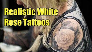 Realistic White Rose Tattoos | TATTOO WORLD