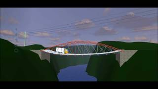 Cheap West Point Bridge Design 2011