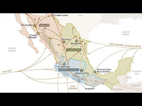Mexico Cartel Map 2015