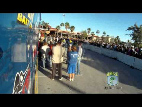 Time lapse of Bassmaster Southern Open weigh-in