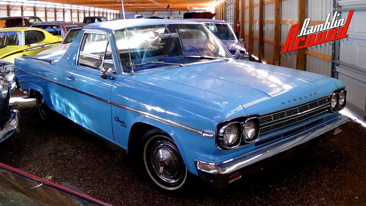 unusual custom 1966 amc rambler 770 utility vehicle   youtube
