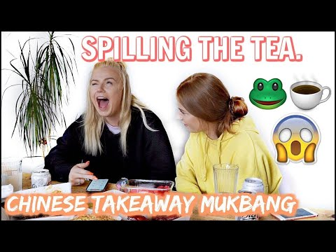SPILLING THE TEA..😳😱 CHINESE TAKEAWAY MUKBANG | Lucy Flight streaming vf