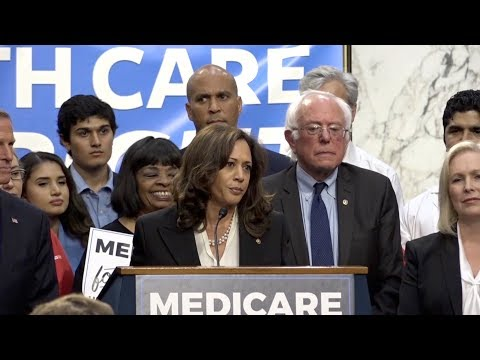 Sen. Kamala Harris signs on to Bernie Sanders' single-payer health plan | Los Angeles Times