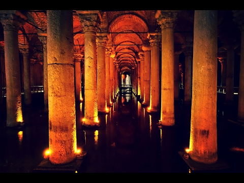 Tom Hank's - Inferno - Sunken Palace/Basilica Cistern/Istanbul 4K UHD