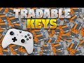 Tradable Keys On Xbox! (Rocket Legaue News)