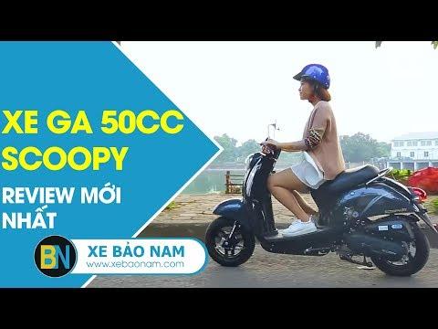 Xe Ga Scoopy 50cc đời Mới 2018 Giá 14.800.000đ ► Chia Sẻ Và đánh Giá Mới Nhất