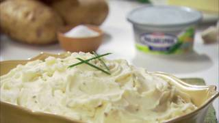 Philadelphia Garlic Mashed Potatoes