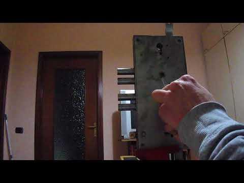 Взлом отмычками --    serratura doppia mappa Tesio