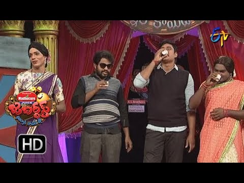 Hyper Aadi, Raijing Raju Performance | Jabardasth | 14th December 2017  | ETV  Telugu