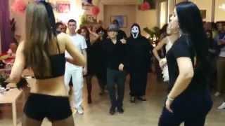 Реггетон баттл. Halloween вечеринка от Spicy Salsa - 2014