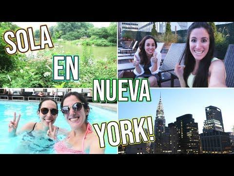 SOLA EN NUEVA YORK! CÓMO SON MIS DÍAS? | Vlog #118