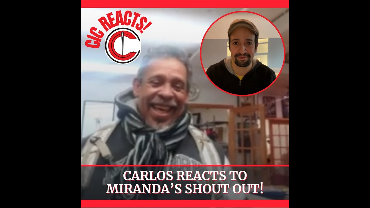 Carlos Reacts to Miranda's Shout Out!