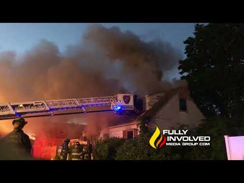 North Massapequa,NY: Man Dies in Early Morning House Fire 071018