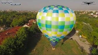 Издигане и полет с топловъздушен балон в гр.Видин