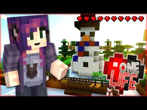 DO YOU WANT TO BUILD A SNOWMAN?! - One Life Season 2 Minecraft SMP- Ep. 25
