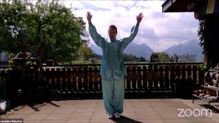 Closing exercise from the zhineng qigong