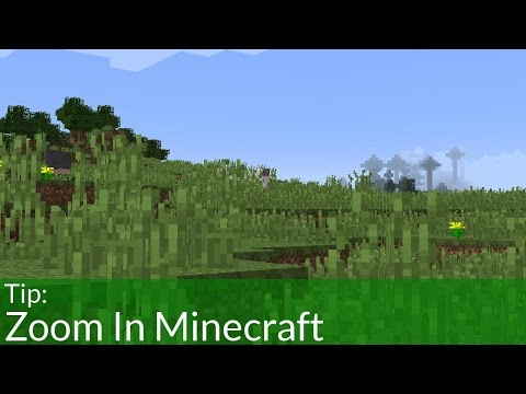 How To Zoom In Minecraft With and Without Mod