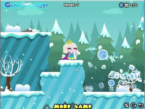 прохолим игру Снежная Королева Спасти Принцессу с 1 по 7 уровень