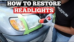 HOW TO RESTORE FOGGY HEADLIGHTS - Headlight Restoration Guide