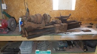 Vintage Lathe Restoration: Part 1
