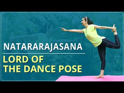 learn how to do the dancer pose  natarajasana  simple