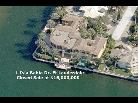Fort Lauderdale Luxury Waterfront Homes FOR SALE