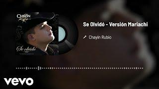 Play Se Olvidó (Versión Mariachi)