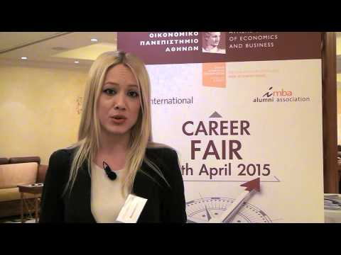 Student's comment on i-MBA Career Fair 2015