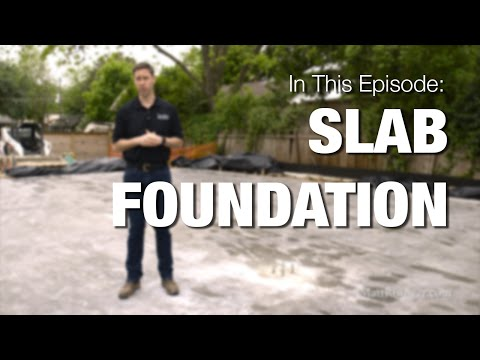 Concrete Slab Foundation - Process & Best Practices
