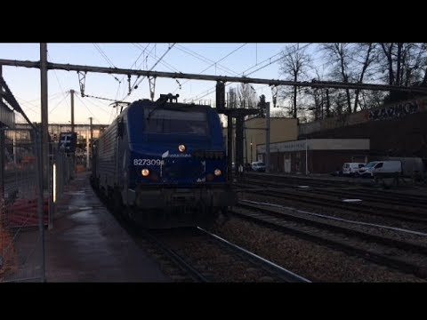 Trains en Gare de Versailles-Chantiers (Partie 1)