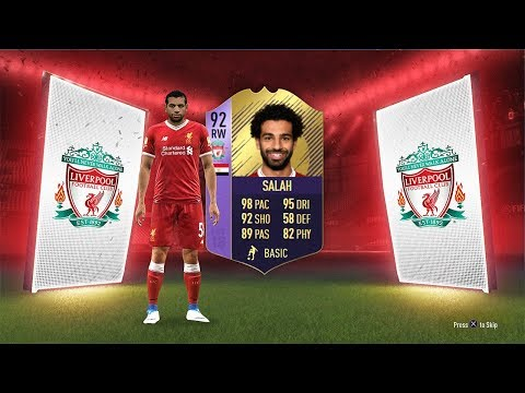 92 RATED POTM MO SALAH! - FIFA 18 Ultimate Team