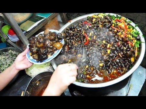 [VUI SỐNG MỖI NGÀY] Ốc hút cay xè nổi tiếng chợ Cồn – Đà Nẵng