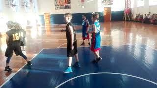 Победный бросок с центра площадки в детском баскетболе (Томск)
