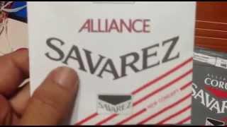 Savarez Nylon String Test For Classical Guitar